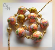 "Necklace ""Rococo"" by Kakomicly"