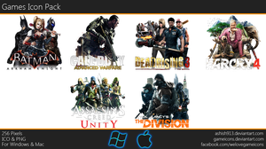 Games Icon Pack By Ashish913 by Ashish-Kumar