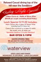Waterview Bistro A5 Colour Newspaper Ads/Flyer by michaeltuan97