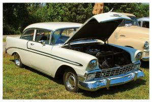 A White 56' Chevy by TheMan268