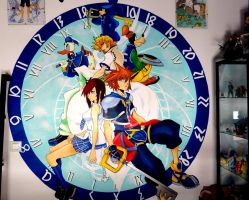 Mural Kingdom Hearts by Raw-J
