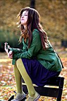 greeny yellow tights by missMimee