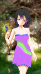 Request by Yukihime-sama :Butterfly Girl: by o0EMR0o