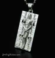 Shroud of Turin Pendant by Sketchy-Stories