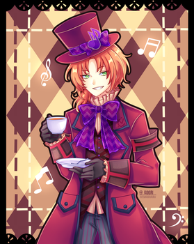 Enstars SS 2016 Leo As The Mad Hatter by HikaruYukiHime