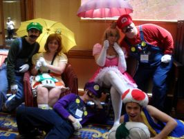 MARIO PARTY UP IN HUR by fmagirl09