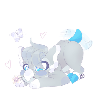 Papillon by Drawing-Heart