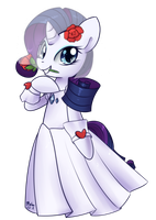 Rarity - Wedding Dress by Bukoya-Star