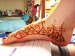 First Attempt at Mehndi Part 2 by ghanimaaa