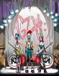 Rock N Roll Zombie Gnome Chicks From Hell by githos