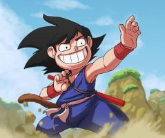 Son Goku by pegosho