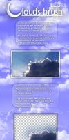 Clouds Brush Tutorial by webby85