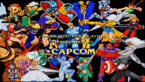 Marvel vs Capcom credits by TimothyB25