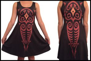 Vaatu Inspired Dress by DrippingSin
