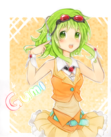 GUMI (colored) by IDK-kun