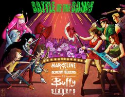 marceline vs buffy : battle of the bands by m7781