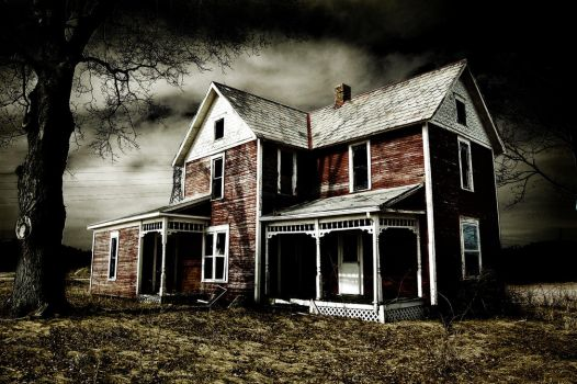 Spooky Abandoned House by theoneandonly06