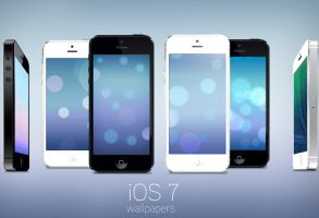 iOS 7 Wallpapers for iPhone by Brebenel-Silviu