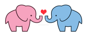 Elephant Love Design by Debra-Marie