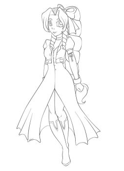Aerith Gainsborough by magicpotion
