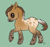 Chibi for Evello by WesternSpice