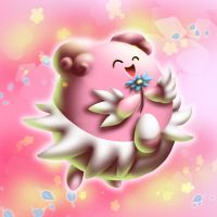 :: Blissey :: by goldfishkang