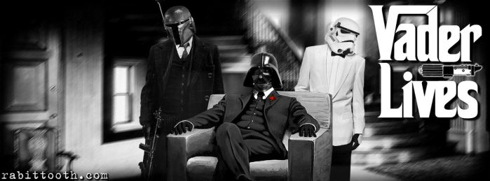 Vader Lives ( Custom Facebook Cover Photo ) by Rabittooth