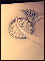clock and wing not finished by GeertY