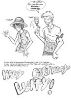 Happy Birthday Luffy by Dreamwish