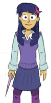 Twilight Sparkle: Humanised by Doorooz
