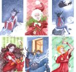 Greeting cards .6 on 9. by Ludimie
