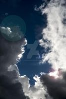 Sun and Cloud by tpphotography
