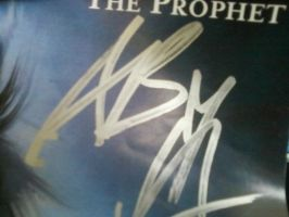 Andy Sixx's Autograph by pika-chika