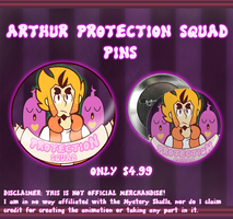 Merch For Sale: Arthur Protection Sqaud by raddzee