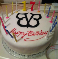 My BVB Birthday Cake by TheBlackBullet