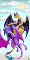 Flying With Your Best Bud by Ysulyan