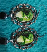 Steampunk Earrings by asunder