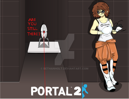 Bethan in Portal 2 by BethanHolt