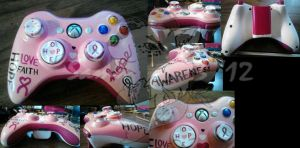 Breast Cancer Awareness Controller by sammim123