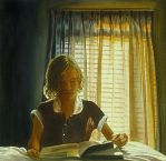 Girl with Picture Book by hank1