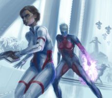 Mass Effect. by Estrada