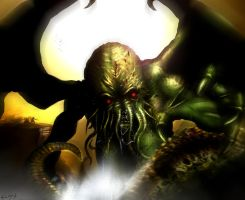 Wrath of the Cthulhu by BlackPicasso1989