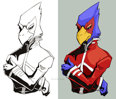 Contrast Falco by naviechance