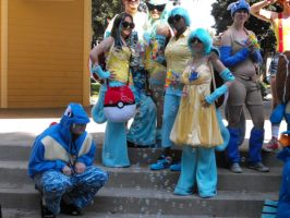 Squirtle Squad Cosplay by AbbieGoth