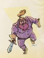 V is for Volstagg by sdowner