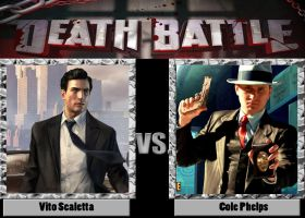 Death Battle: Vito Scaletta vs Cole Phelps by CZProductions