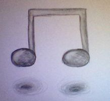 A music note! by UnrelentingRage