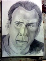nicolas cage...not finish by widgge