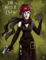 The Witch Files: Meredith by jeftoon01