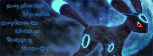 FaceBook Cover: Umbreon Version 2 by BobOfTibia